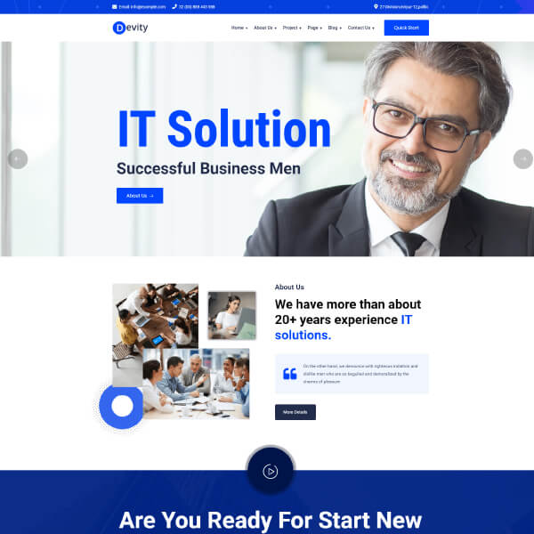 it solutions theme